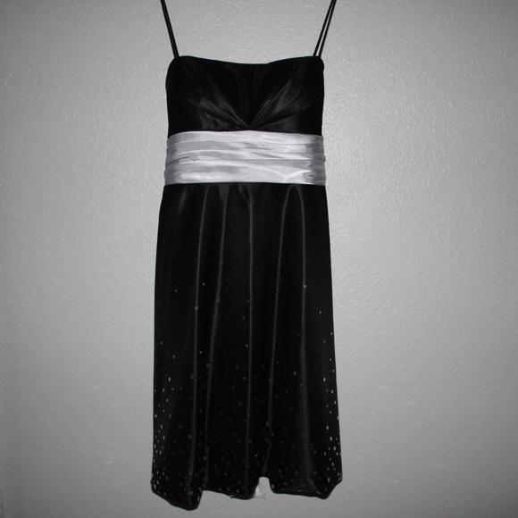 Macys Dresses Macys Black Homecomingprom Dress Poshmark